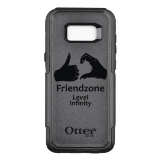 Illustration Friendzone Level Infinity OtterBox Commuter Samsung Galaxy S8+ Case