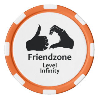 Illustration Friendzone Level Infinity Poker Chips