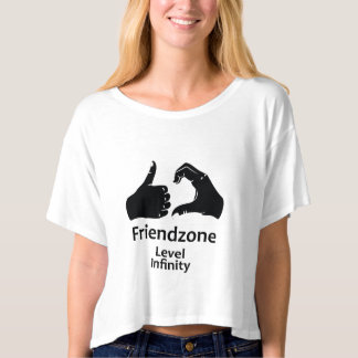 Illustration Friendzone Level Infinity T-Shirt
