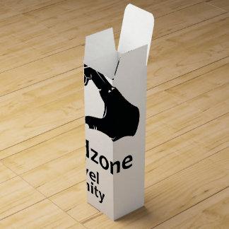 Illustration Friendzone Level Infinity Wine Gift Box