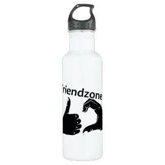 Illustration Friendzoned Hands Shape 710 Ml Water Bottle