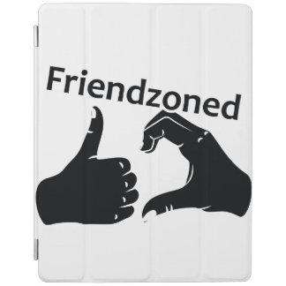 Illustration Friendzoned Hands Shape iPad Cover