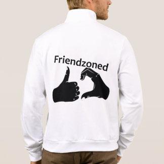 Illustration Friendzoned Hands Shape Jacket