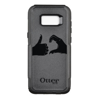 Illustration Friendzoned Hands Shape OtterBox Commuter Samsung Galaxy S8+ Case