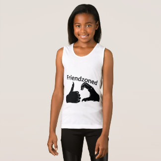 Illustration Friendzoned Hands Shape Singlet