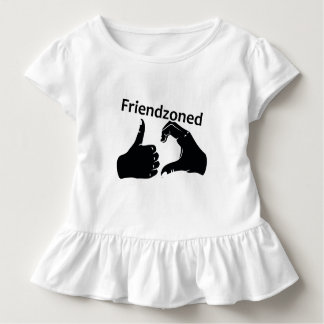 Illustration Friendzoned Hands Shape Toddler T-Shirt