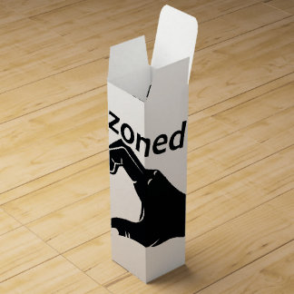 Illustration Friendzoned Hands Shape Wine Box