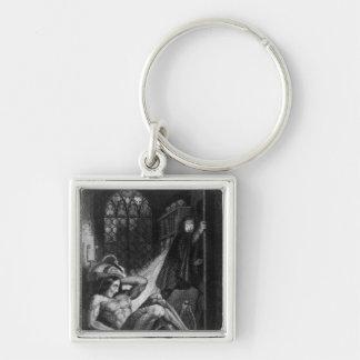 Illustration from 'Frankenstein' Key Ring