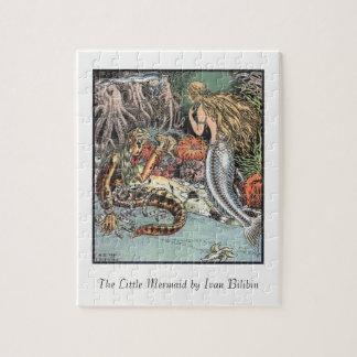 Illustration from the Little Mermaid Ivan Bilibin Jigsaw Puzzle