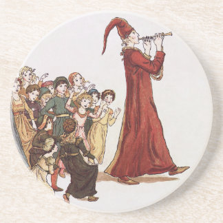 Illustration from The Pied Piper of Hamelin Book Coaster