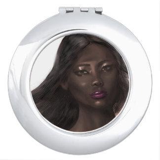 Illustration Glamour Compact Mirror