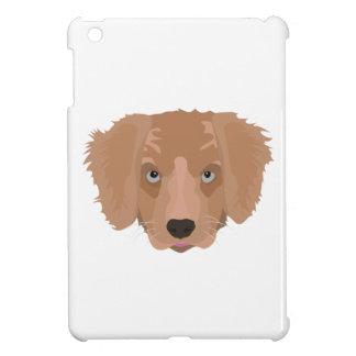 Illustration Golden Retriever Puppy Case For The iPad Mini