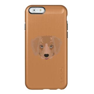 Illustration Golden Retriever Puppy Incipio Feather® Shine iPhone 6 Case