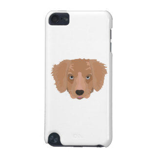 Illustration Golden Retriever Puppy iPod Touch (5th Generation) Cover