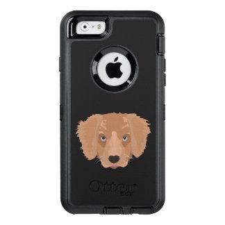 Illustration Golden Retriever Puppy OtterBox iPhone 6/6s Case