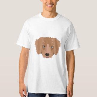 Illustration Golden Retriever Puppy T-Shirt