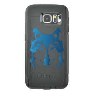 Illustration Ice Blue Wolf OtterBox Samsung Galaxy S6 Case