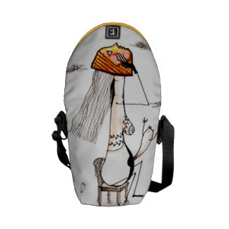 Illustration messenger bag. messenger bags