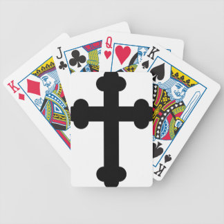 Illustration Of A Cross Bicycle Playing Cards