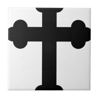 Illustration Of A Cross Tile