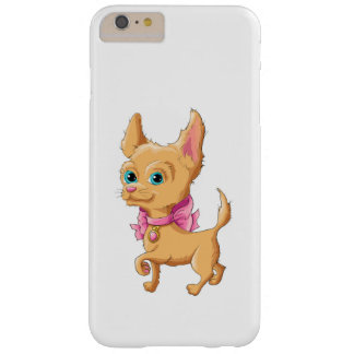 Illustration of a cute dog Chihuahua Barely There iPhone 6 Plus Case