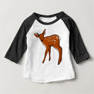 Illustration Of A Deer Baby T-Shirt