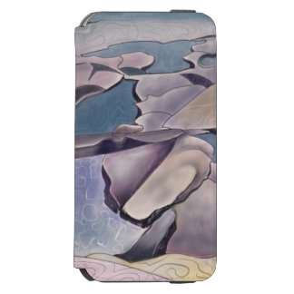 Illustration of a rock platform and tidal pools incipio watson™ iPhone 6 wallet case