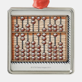 Illustration of abacus christmas ornaments