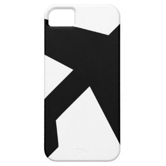Illustration Of An Airplane Silhouette iPhone 5 Covers