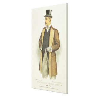 Illustration of British Costume, pub. by the John Stretched Canvas Prints