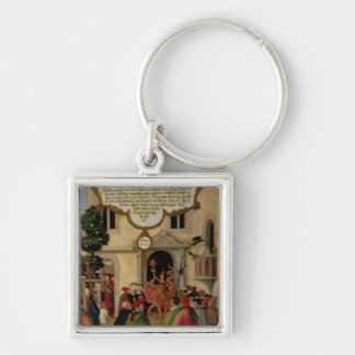 Illustration of Christ's teaching Keychains