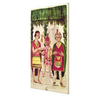 Illustration of Cincheroca Canvas Print