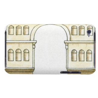Illustration of early 4th century Arch of Janus Barely There iPod Covers