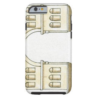 Illustration of early 4th century Arch of Janus Tough iPhone 6 Case