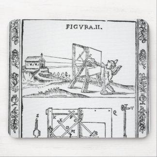Illustration of Giulio Troili's idea Mouse Pad