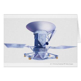 Illustration of Magellan spacecraft Card