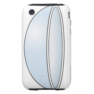 Illustration of Soft Contact Lens Tough iPhone 3 Cases
