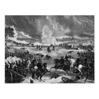 Illustration of the Battle of Gettysburg Postcard