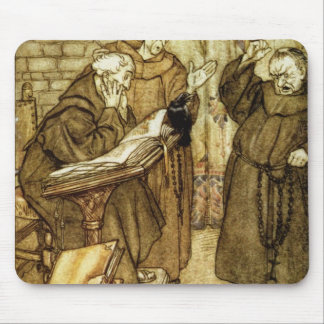 Illustration of 'The Jackdaw of Rheims' Mouse Pad