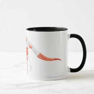 Illustration of Triceratops muscular system Mug