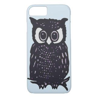 ILLUSTRATION OWL VECTOR iPhone 8/7 CASE