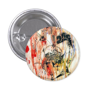 Illustration picture can batch. 3 cm round badge