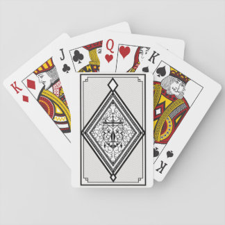 illustration playing cards