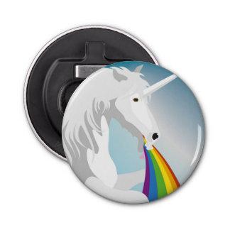 Illustration puking Unicorns Bottle Opener