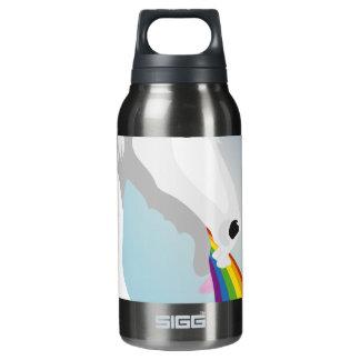 Illustration puking Unicorns Insulated Water Bottle