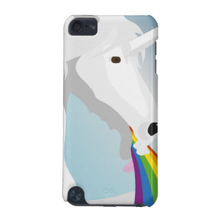 Illustration puking Unicorns iPod Touch (5th Generation) Cover