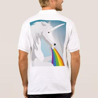 Illustration puking Unicorns Polo Shirt