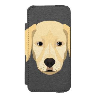 Illustration Puppy Golden Retriver Incipio Watson™ iPhone 5 Wallet Case