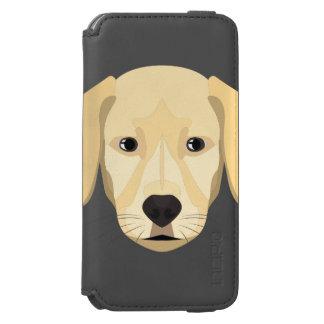 Illustration Puppy Golden Retriver Incipio Watson™ iPhone 6 Wallet Case