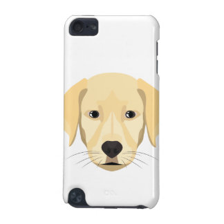 Illustration Puppy Golden Retriver iPod Touch 5G Cases